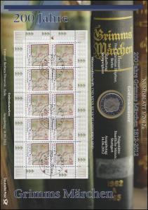 2938 200 Jahre Grimm´s Märchen - Numisblatt 3/2012