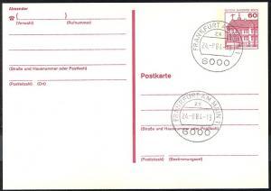 P 122 II - BuS 60 Pf Letterset VS-O Frankfurt/Main