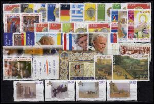 1474-1513 Vatikan-Jahrgang 2004 komplett, postfrisch