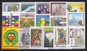 2302-2335 Österreich-Jahrgang 2000 komplett, postfrisch **