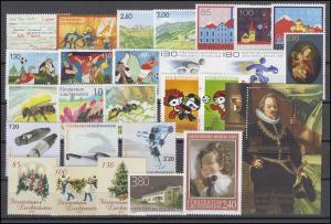 1470-1504 Liechtenstein Jahrgang 2008 komplett, postfrisch