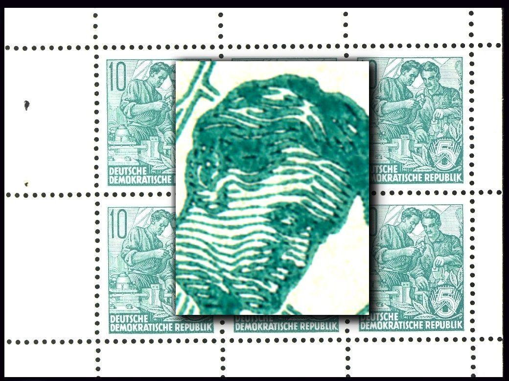 MH 3b1.46 Fünfjahrplan 1961, 1 PLF HBl. 7A, 1 PLF HBl 8A, 4 PLF HBl. 9A ** 1