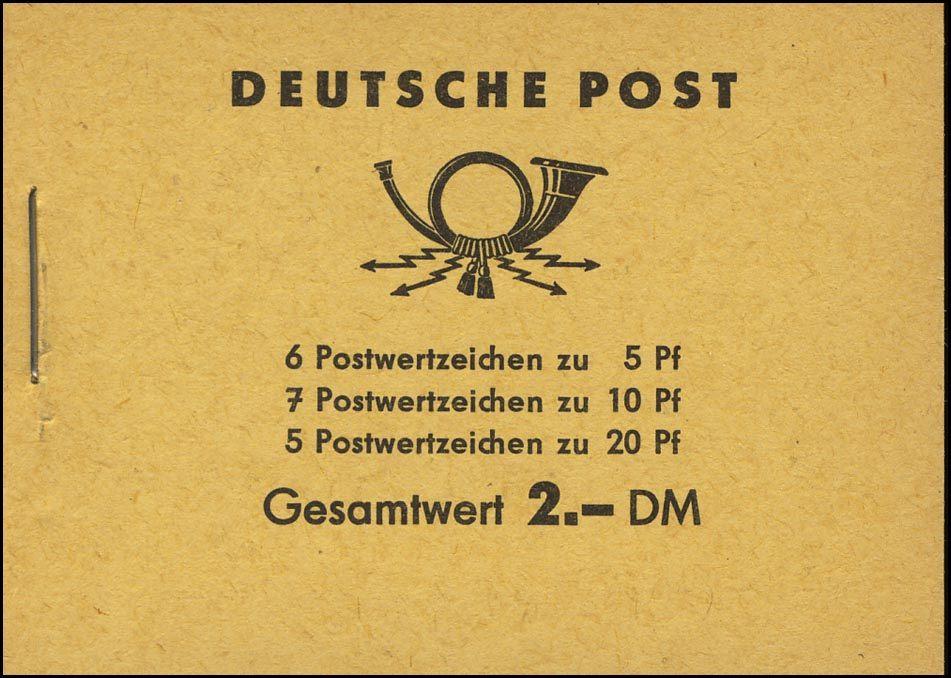 MH 3b1.46 Fünfjahrplan 1961, 1 PLF HBl. 7A, 1 PLF HBl 8A, 4 PLF HBl. 9A ** 2