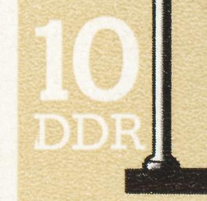 SMHD 19 Telegramme 1985 mit PLF 2957, Feld 37, **