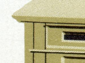 SMHD 21 a Postämter 1985 mit PLF 2924, Feld 1, **