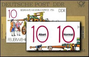 SMHD 21 a Postämter 1985 mit PLF 3101 II, **