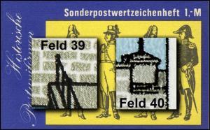 SMHD 25 II Postuniformen mit PLF 2972, Felder 39 und 40, **