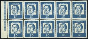 HBl. 13 aus MH 8 Luther, RLV V, postfrisch