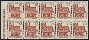 HBl. 16 aus MH 11 Lorsch, RLV III b, postfrisch