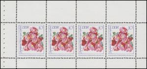 HBl. 14A aus MH 6 Rosenausstellung 1972, postfrisch