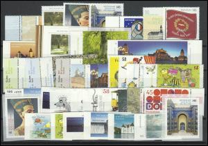 2972-3046 Deutschland Bund-Jahrgang 2013 komplett, postfrisch **