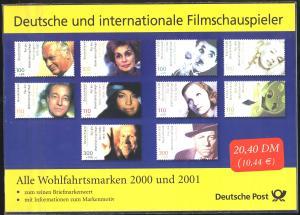 Filmschauspieler 2000-2001 ** (Monroe, Chaplin, Rühmann, Fröbe etc.)