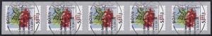 3046 Blume 60 Cent sk 5er-Streifen aus 500-Rolle UNGERADE Nummer, EV-O Bonn