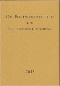 Jahrbuch Bund 2013, postfrisch komplett - wie von der Post verausgabt