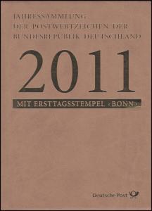 Jahressammlung Bund 2011 mit Ersttagssonderstempel