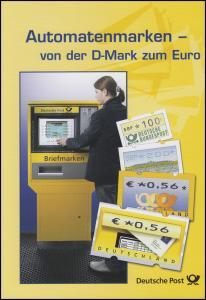Automatenmarken Postemblem - Sielaff - Briefkasten - EB 3/2002