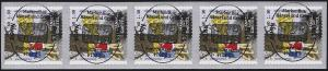 3061 Hänsel und Gretel 5er-Streifen mit GERADER Nummer EV-O Bonn