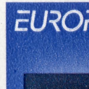 30 MH Europa/CEPT 1994, 2 PLF auf Felder 8 + 10: Punkt + Schrägstrich, mit ZB **