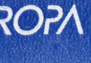 30 MH Europa/CEPT 1994, PLF auf Feld 2 Fleck unter PA, VS-O Weiden