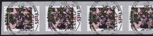 3094 Blume 28 Cent 2014 sk 5er-Streifen aus 500er UNGERADE Nummer, EV-O Bonn