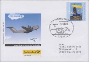 ILA Luft- und Raumfahrtausstellung, Auflage 1000! SSt Schönefeld Flugzeug 8.6.10