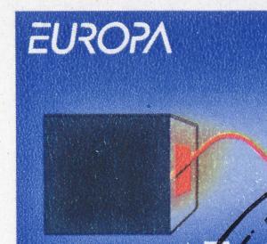 30 MH Europa/CEPT mit 2 PLF: Feld 3 und 10, mit Zählbalken, HAMMERSBACH 16.6.94
