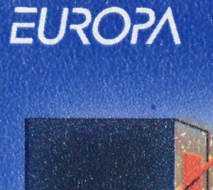 HBl. 34 aus MH 30 Europa 1994 mit Doppel-PLF Felder 3 und 10, **