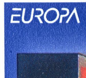 HBl. 34 aus MH 30 Europa 1994 mit Doppel-PLF Felder 8 und 10, **