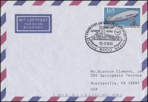 Erstflug Lufthansa LH 402 Frankfurt-Newark, EF Bf SSt Frankfurt/Main 15.3.1995