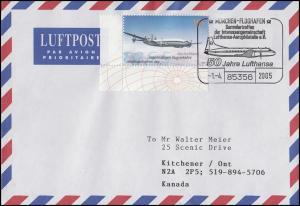 2450 Lufthansa, EF Bf SSt München 50 Jahre Lufthansa 1.4.2005 nach Kanada