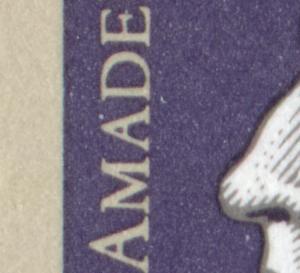 Block 26 Mozart 1991 mit PLF heller Fleck zwischen AD von AMADEUS **