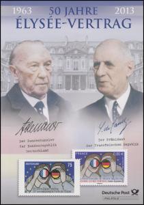 2977 Ellysee-Vertrag über die deutsch-französische Zusammenarbeit - EB 1/2013
