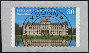 3128 Schloss Ludwigslust selbstklebend von der Rolle, VS-O Bonn 7.5.15
