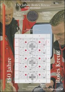 2998 150 Jahre Rotes Kreuz - Numisblatt 2/2013