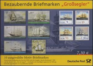 Bezaubernde Briefmarken mit dem Motiv Großsegler, **