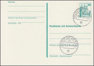 P 112 - BuS 50/50 Pf mit Strichlinien, VS-O Frankfurt 6