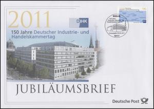 2865 Deutscher Indistrie- und Handesltag DIHK 2011 - Jubiläumsbrief