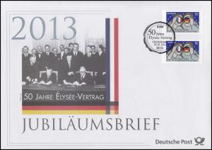 2977 Elysee-Vertrag: Zusammenarbeit Deutschland-Frankreich 2013 - Jubiläumsbrief