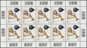 2684 Erdölförderung 2007 - kompletter Kleinbogen, postfrisch