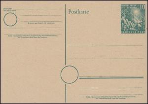 PSo 1 Richtfest & Bundestag: mit Putzendruck rechts unten über T, postfrisch **