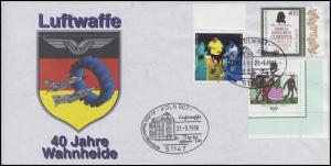 40 Jahre Luftwaffe  Wahnheide Emblem MiF Bf. SSt KÖLN Tag der offenen Tür 1996