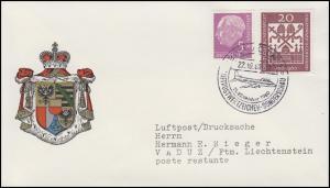 179x Heuss 5 Pf. mit 336 Heilige MiF Lp-Drucksache SSt KÖLN Sonderschau 22.10.60