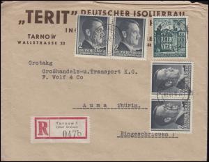 Generalgouvernement 70 Bauwerke + 4x 71 Hitler MiF R-Bf TARNOW 27.6.42 nach Auma