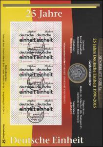 3182 Deutsche Einheit: 25 Jahre Wiedervereinigung - Numisblatt 5/2015