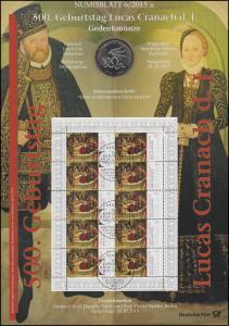 3181 Lucas Cranach der Jüngere - Numisblatt 6/2015