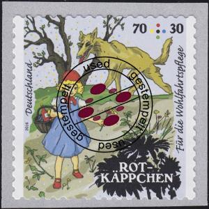 3215 Grimms Märchen - Rotkäppchen 70 C, selbstklebend von der Rolle, EV-O Bonn