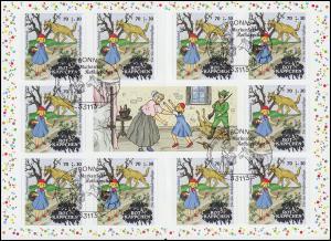 103 MH Grimms Märchen: Rotkäppchen, Erstverwendungsstempel Bonn 11.02.2016