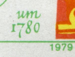 2472-2477 Puppen-KB mit 2 PLF: kleine Unterbrechung + Schrägstrich, Feld 3+4 **