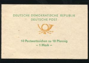 SMHD 1da Posthorn 1972 mit 10x 10 Marken und mit DDF Posthorn defekt, **