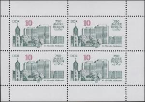 3076 Berlin-Kleinbogen Alt-Marzahn: Verschnitt links schmal und rechts breit, **